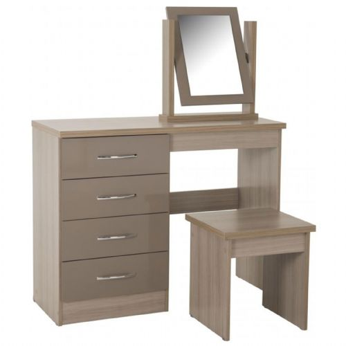 Nevada Dressing Table OYSTER GLOSS